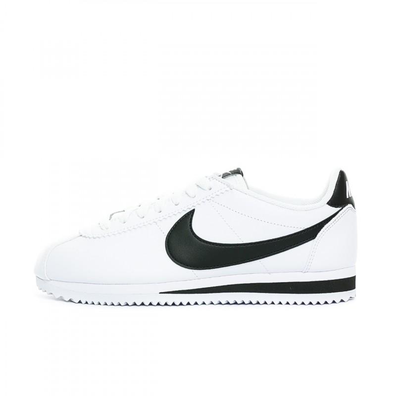 Cortez-Baskets-blanc-femme-Nike-pas-cher