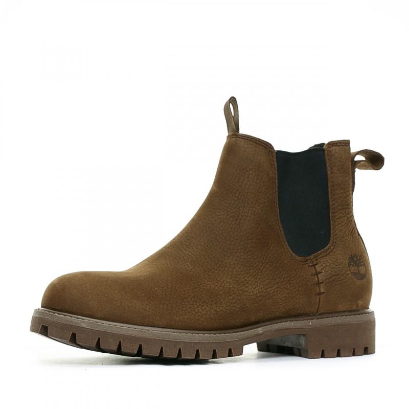 chaussure timberland hommes marron