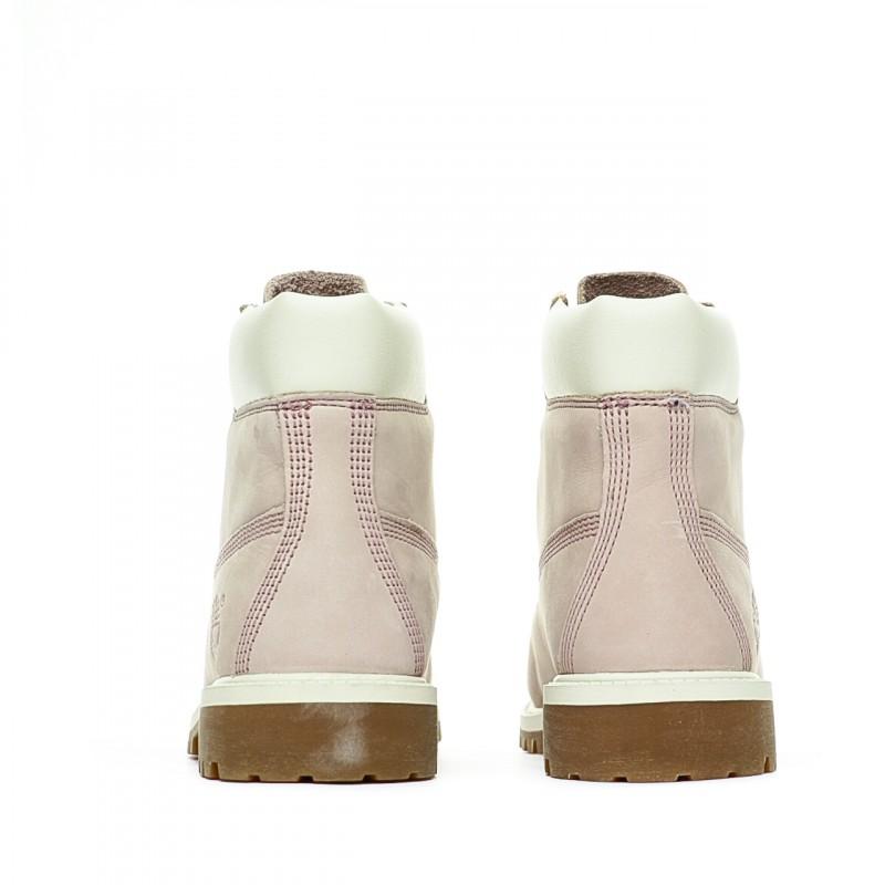 Boots rose enfant Timberland pas cher | Espace des Marques