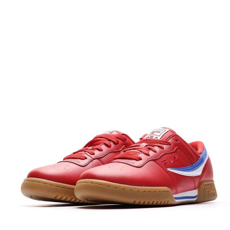 Baskets rouge homme Fila Original Fitness