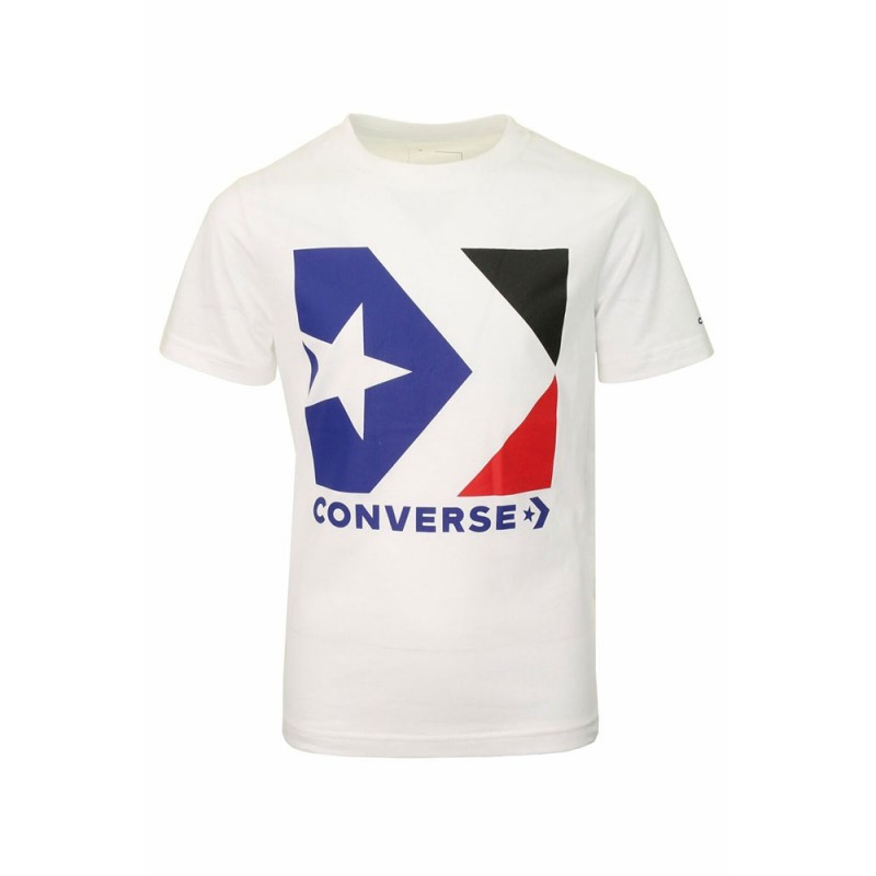 converse rouge tee shirt