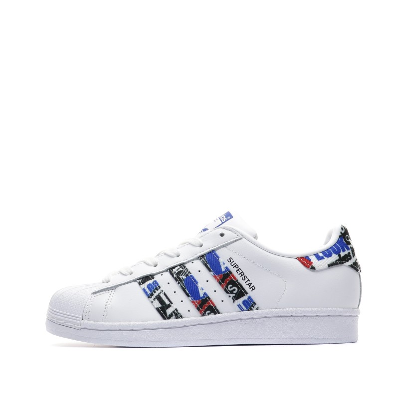 sale usa online classic fit great look Adidas Superstar Baskets blanches pas cher | Espace des Marques