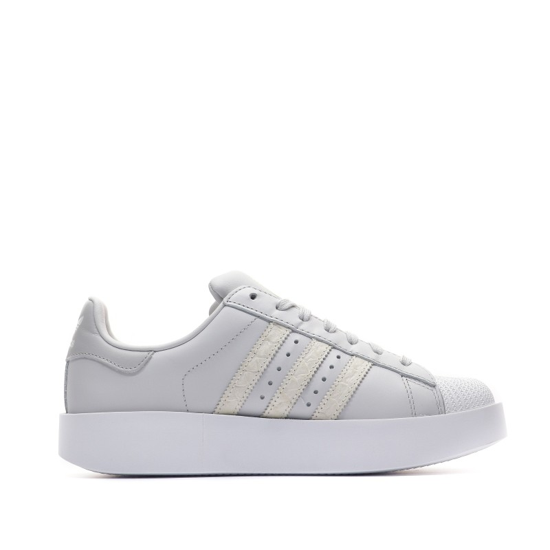 magasin en ligne c6097 e2aae Adidas Superstar Bold Baskets femme gris pas cher | Espace ...