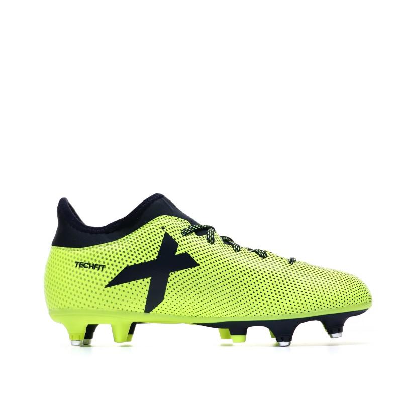 Adidas X 17.3 SG Chaussures de foot jaune homme | Espace des Marques
