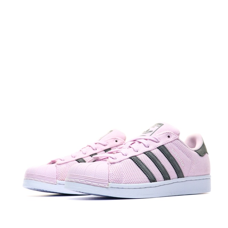 Superstar Baskets Adidas rose fillefemme byf7Y6g