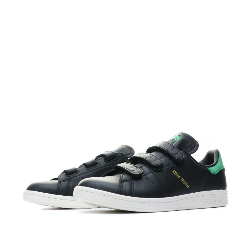 Stan Smith Baskets noir homme Adidas
