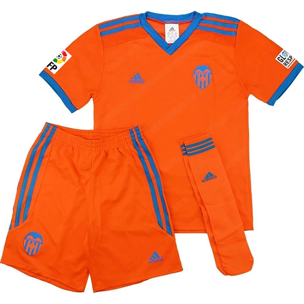 Détails sur Mini kit enfant Valencia CF Adidas Orange