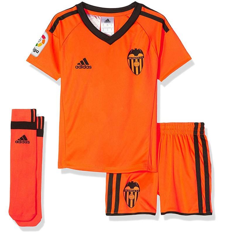 Maillot de Foot Enfant Valencia CF Minikit Adidas pas cher | Espace des Marques