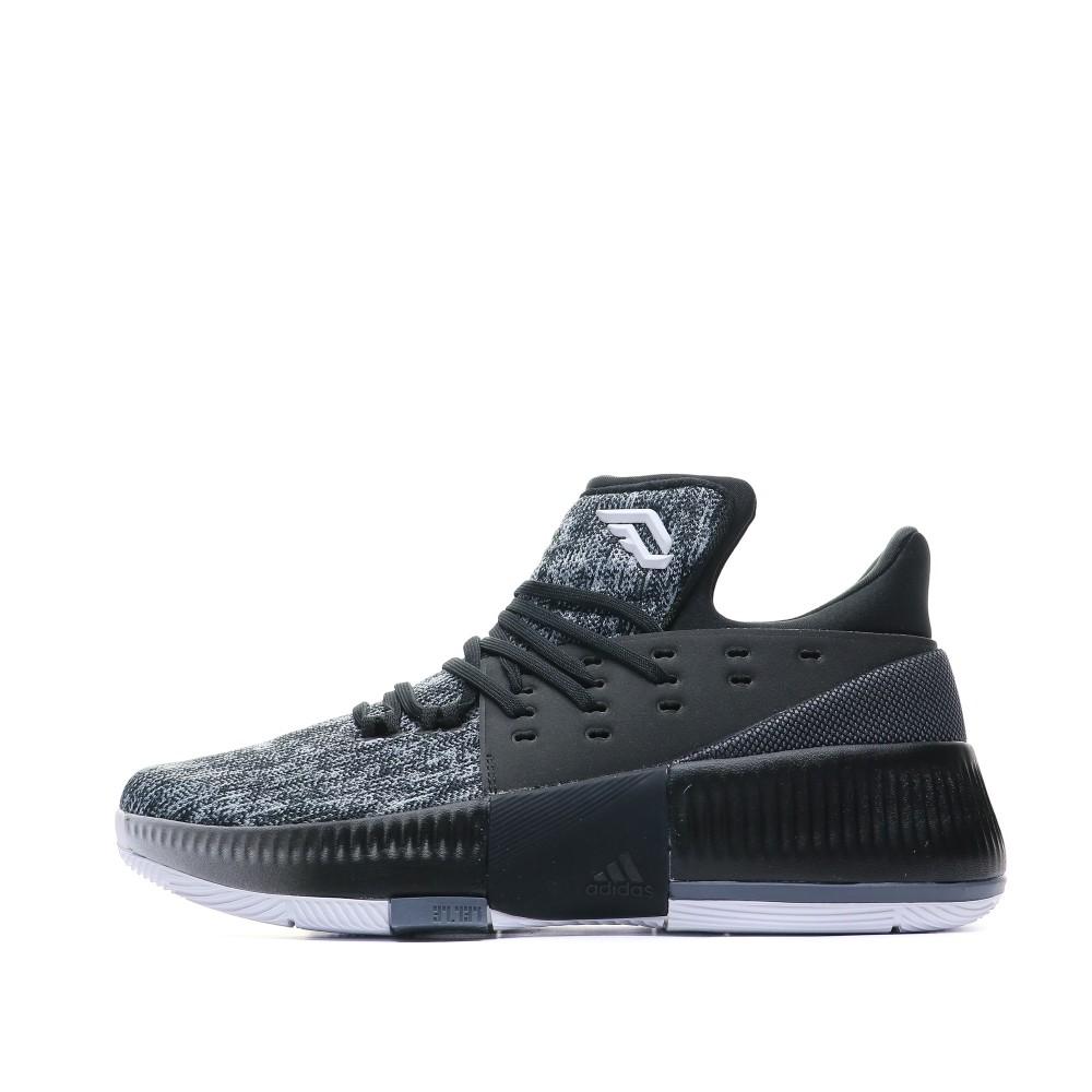 Détails sur D Lillard 3 Chaussures Basketball Noir Homme Adidas Noir