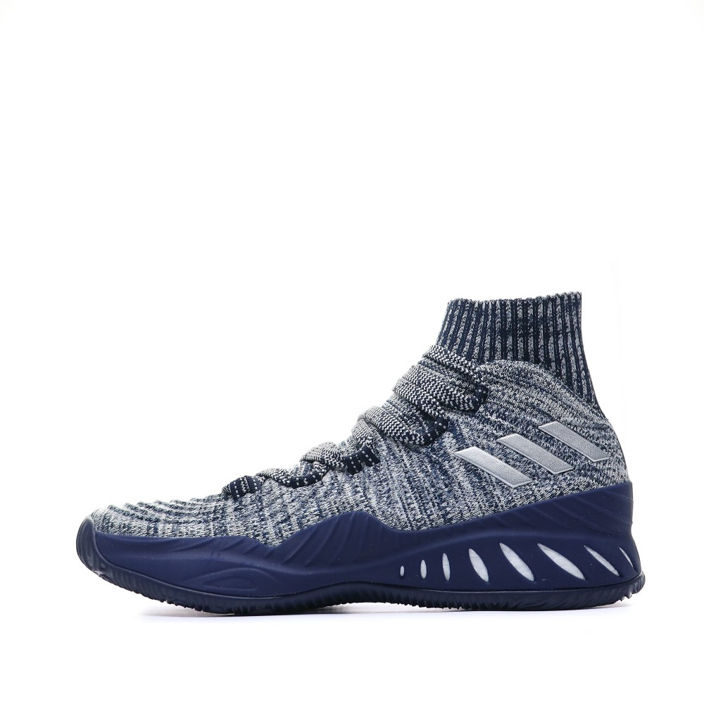 Details about Crazy Explosive 2017 Prime Knit Chaussures Basketball Marine Homme Adidas Bleu