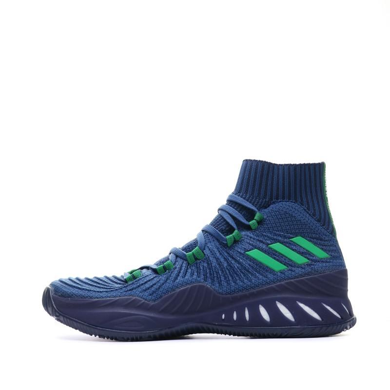 chaussure de basket adidas bleu