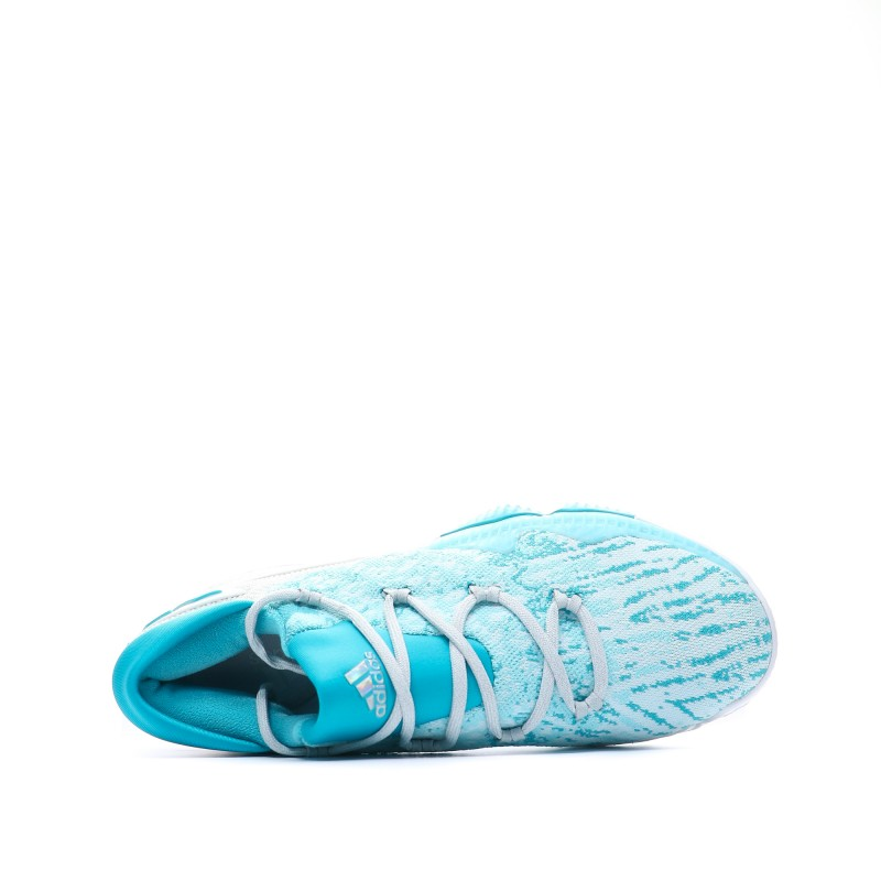 Basket Ball Blanc|Bleu Adidas Crazylight Boost Low