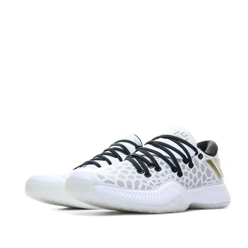 basket adidas blanche or