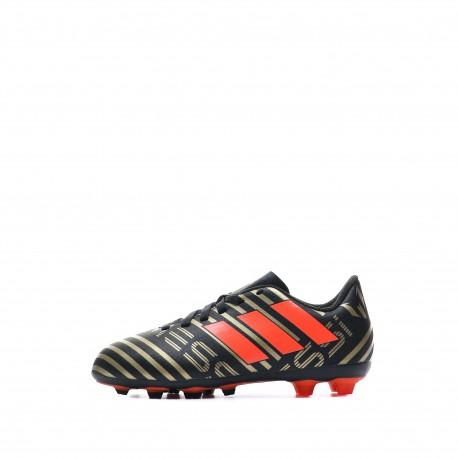 Nemeziz Messi 17.4 FXG Chaussures Football Noir Garçon Adidas