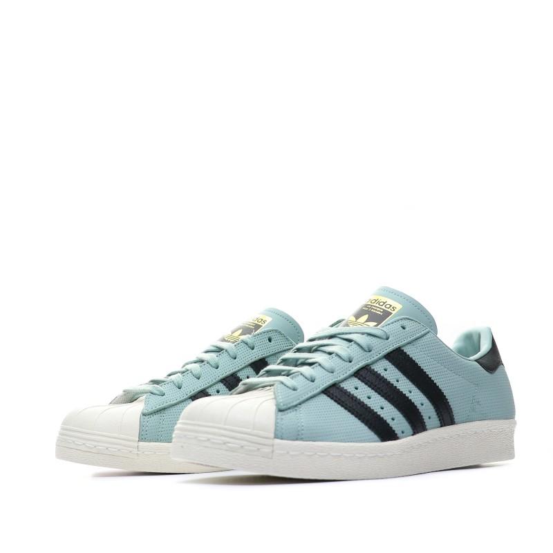 half off uk cheap sale finest selection Adidas Superstar 80s Baskets bleu homme pas cher | Espace des Marques