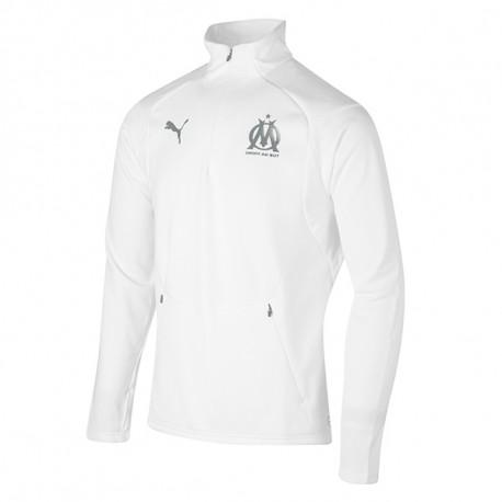 Olympique de Marseille Sweat Blanc Homme Puma