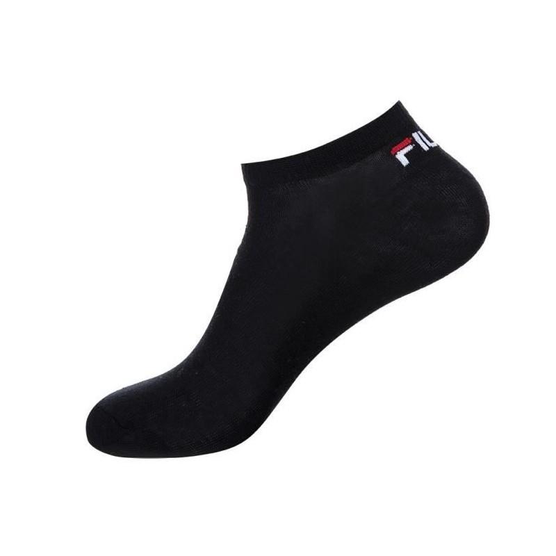 Lot de 3 paires de chaussettes noires homme//femme Fila Noir