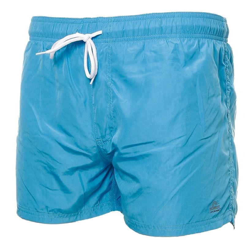 chaussures de tempérament doux et léger vente énorme Short de bain bleu homme Longboard pas cher   Espace des Marques