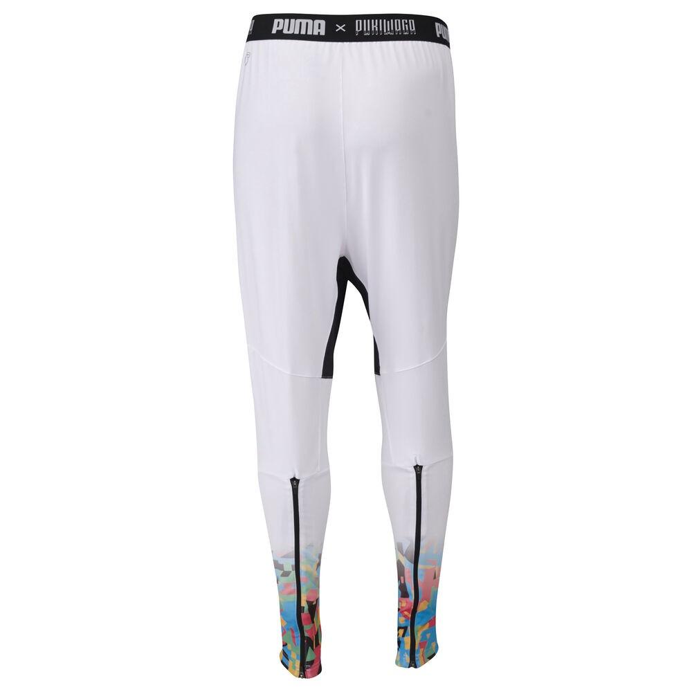Détails sur MHD Pantalon de survêtement blanc homme Pukiwaga Puma Blanc