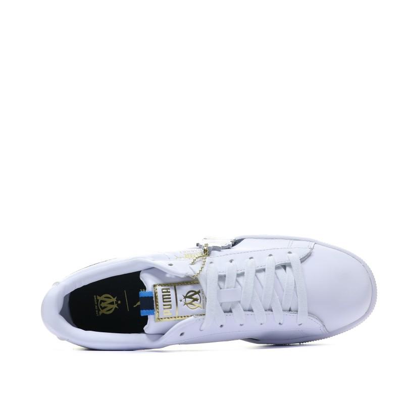 basket puma blanche homme pas cher
