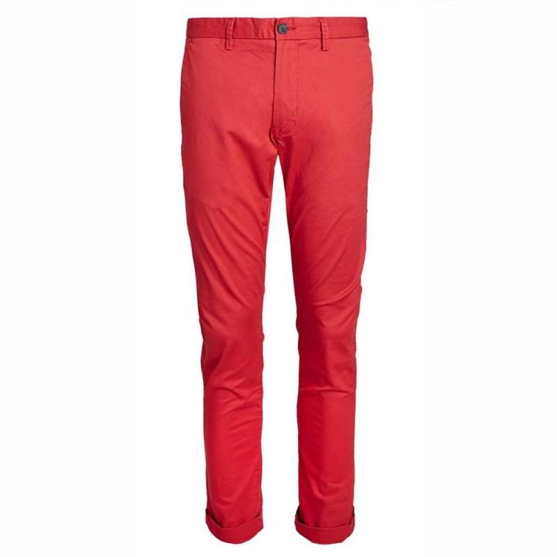 usine authentique en gros premier coup d'oeil Pantalon chino rouge homme Teddy Smith pas cher | Espace des Marques