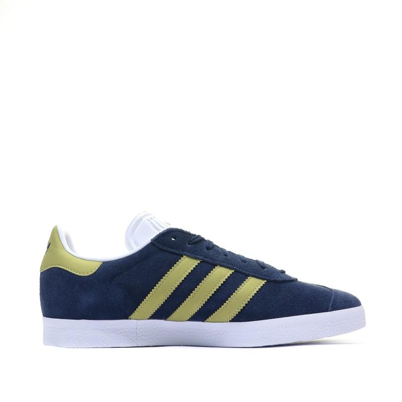 adidas gazelle homme bleu et jaune