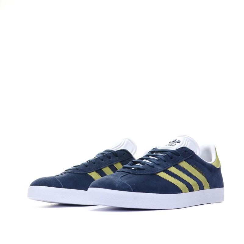 bon ajustement 7943e f79ed Gazelle homme garçon Baskets bleu Adidas pas cher | Espace ...