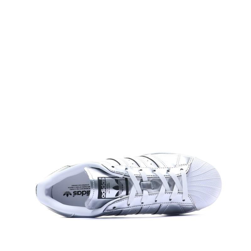 adidas superstar gris femme