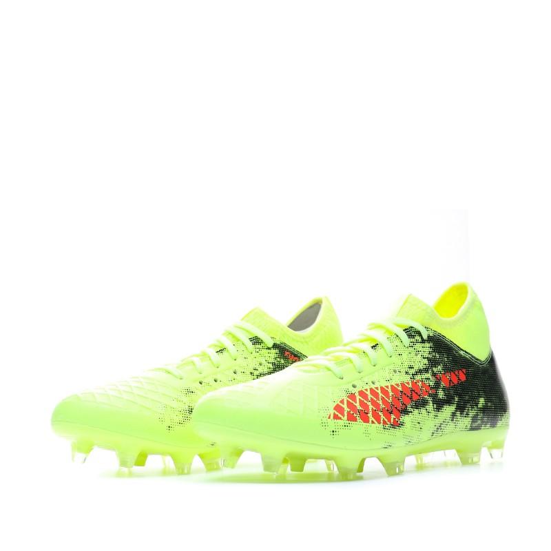 Future 18.3 FG Chaussures de foot Jaune Homme Puma| Espace