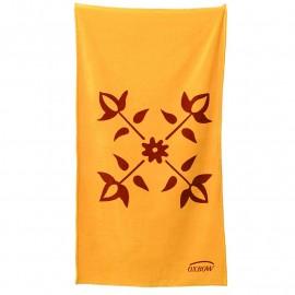 Large Sport Towel Serviette De Bain Homme SUPERDRY ORANGE