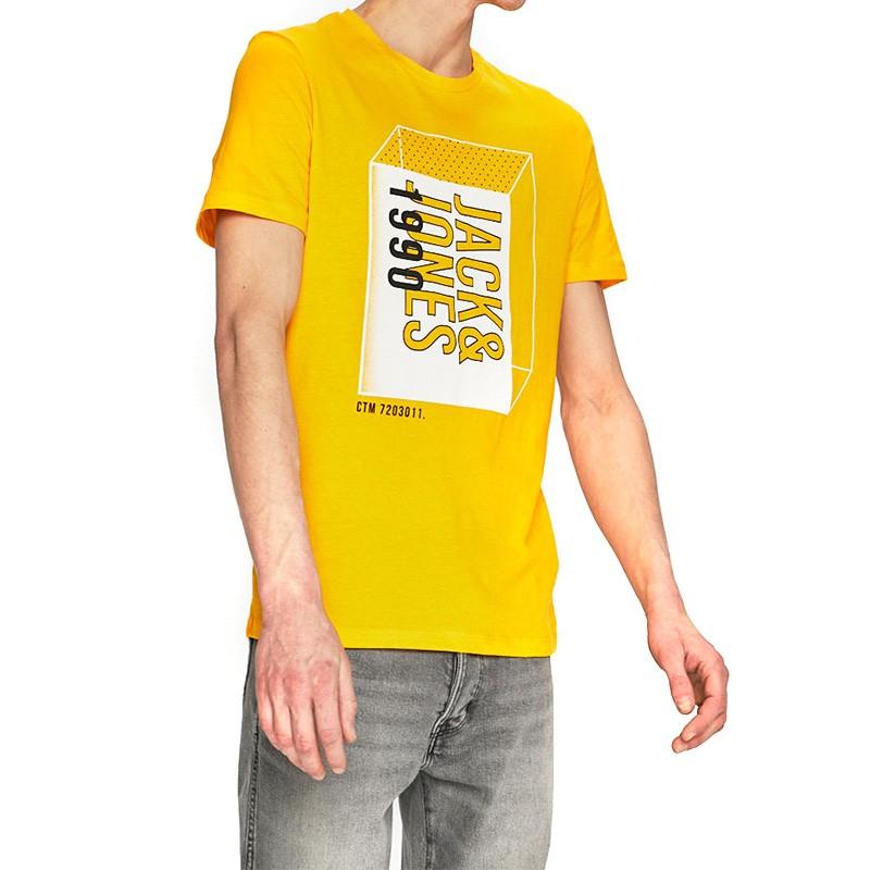 tee shirt jaune homme pas cher
