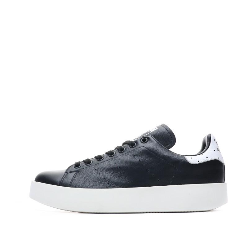 en soldes 8cf97 f9286 Stan Smith Bold Baskets noir femme Adidas pas cher | Espace ...