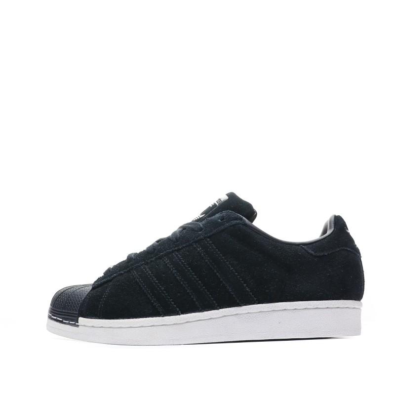 sneakers homme noir cuir adidas