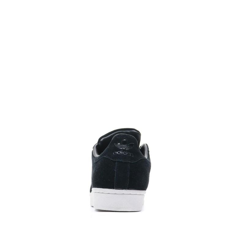 Adidas Superstar Noir Homme cuir suede pas cher | Espace des Marques