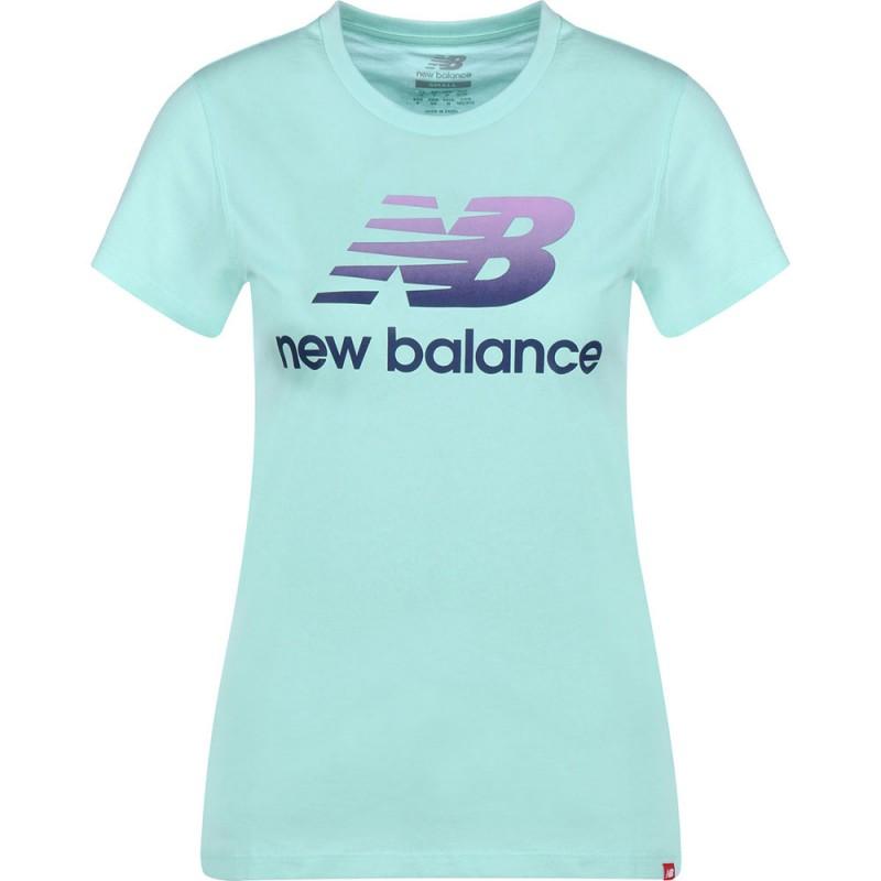 tee shirt new balance homme bleu