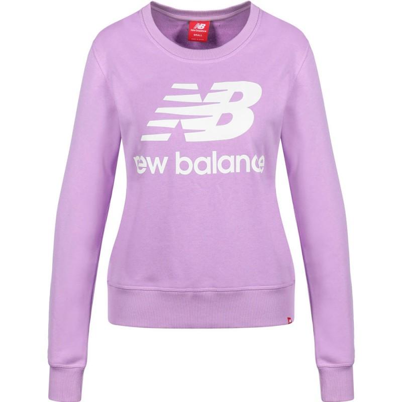 Sweat violet femme New Balance pas cher | Espace des Marques
