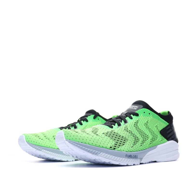 nouveau style 48445 7458f Chaussures de running vert fluo homme New Balance | Espace ...