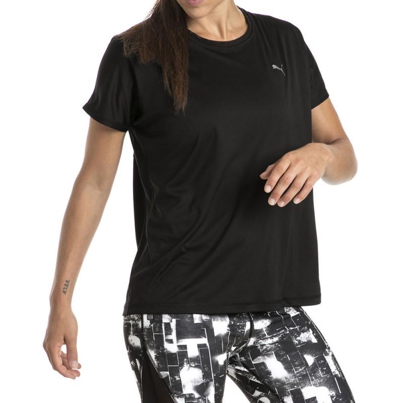 Fitness Femme Des CherEspace Marques Tee Puma Pas Noir Shirt c4RqL5Aj3