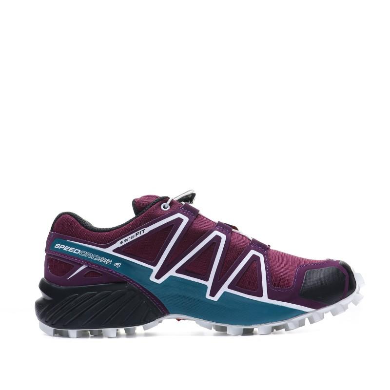 Salomon Speedcross 4 Femme Chaussures Trail violet   Espace des Marques