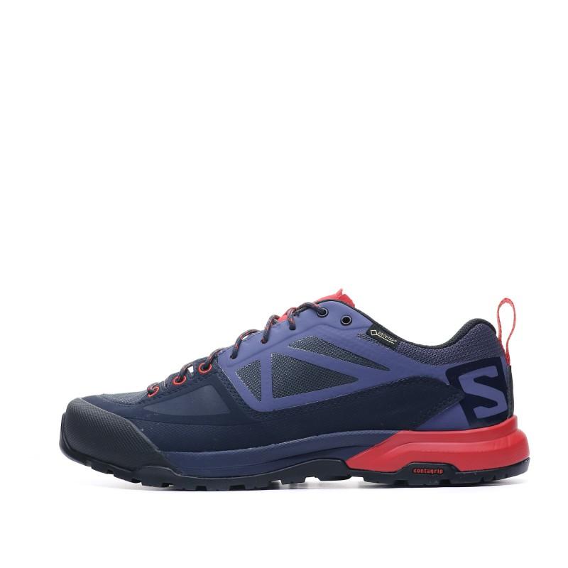 SALOMON Salomon X alp spry bleu orange Chaussures Basse