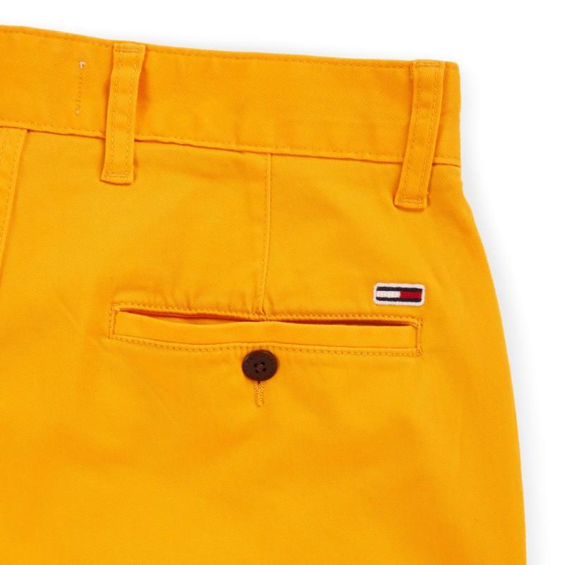 Bermuda jaune homme Tommy Jeans pas cher | Espace des Marques