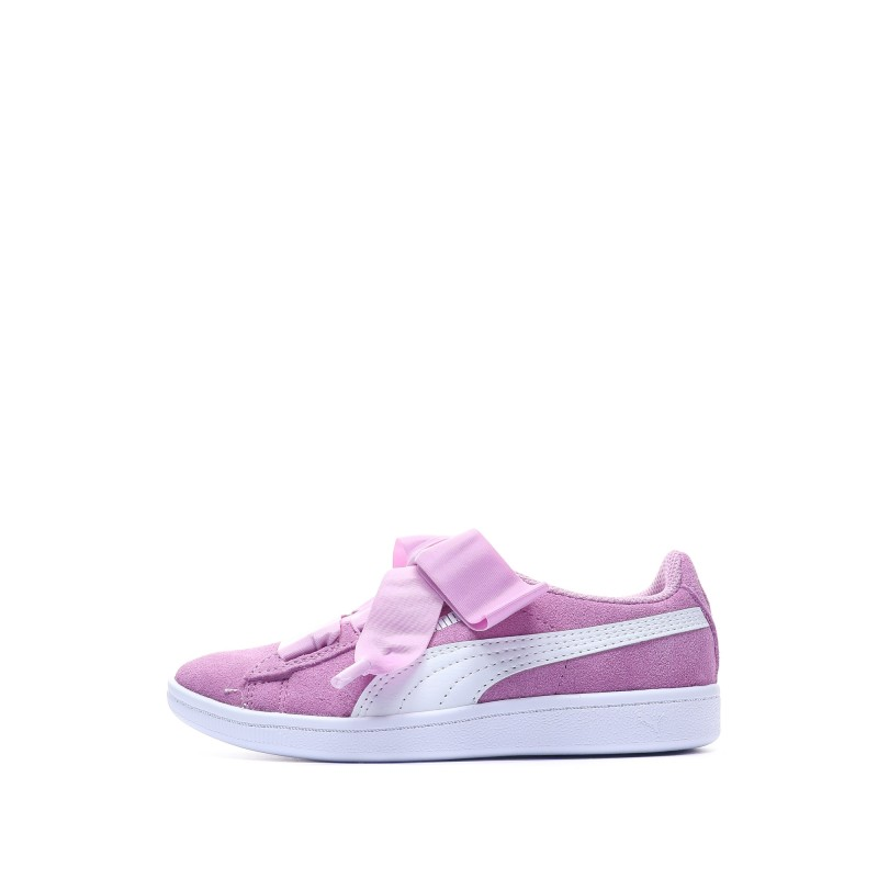 baskets puma fille rose