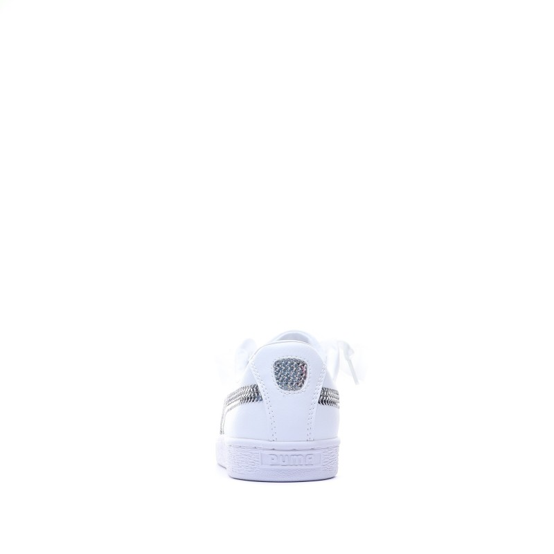 Heart Bling Baskets blanc junior Puma