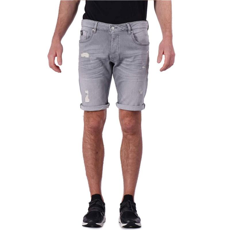 Bermuda jeans gris homme Kaporal pas cher | Espace des Marques