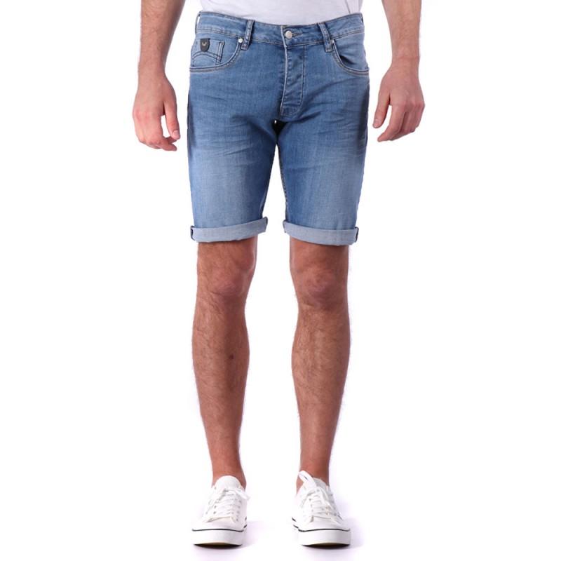 Bermuda jeans bleu homme Kaporal pas cher | Espace des Marques