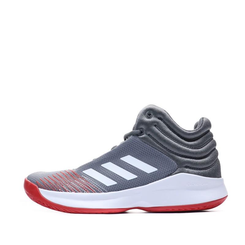 large choix de couleurs Prix usine 2019 commander en ligne Adidas Pro Spark Chaussures Basketball gris enfant | Espace des Marques