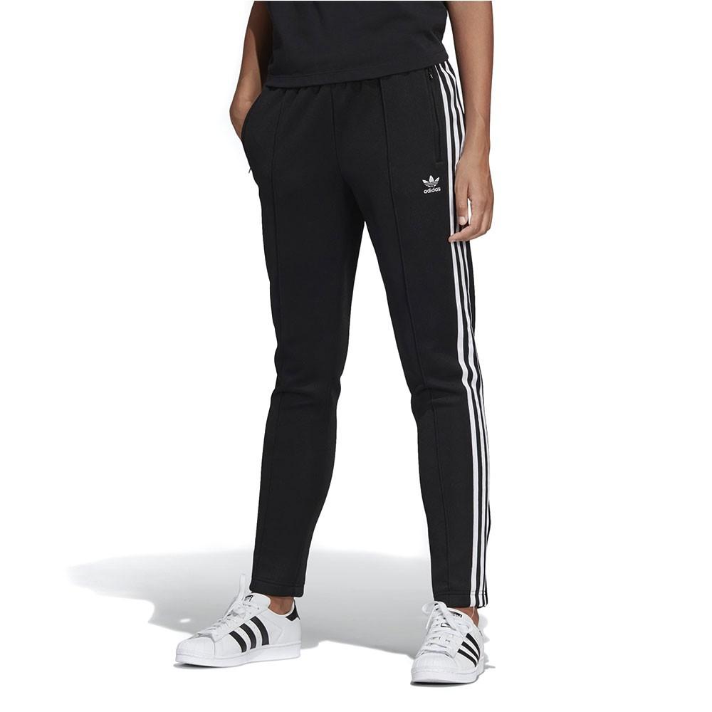 Détails sur Pantalon de survêtement noir femme Adidas SST Noir