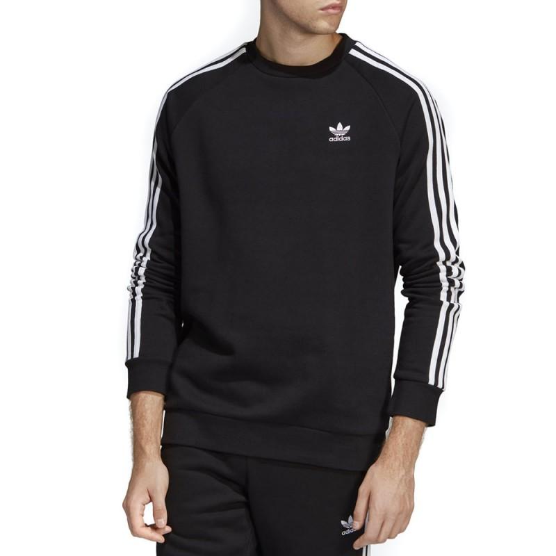 Sweat noir homme Adidas 3 Stripes pas cher