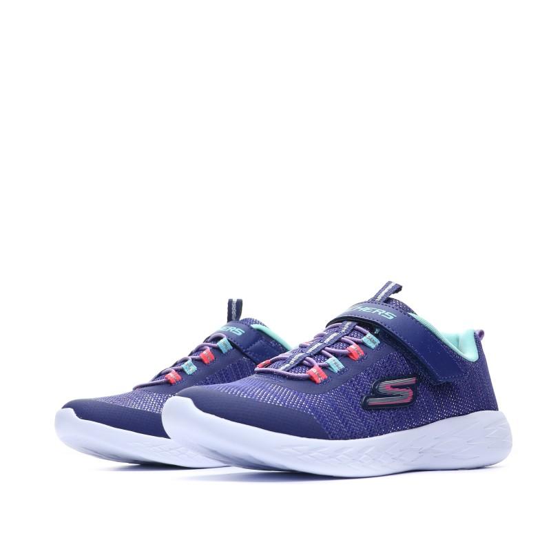 baskets Fille Bleu Skechers Pas cher | Espace des Marques