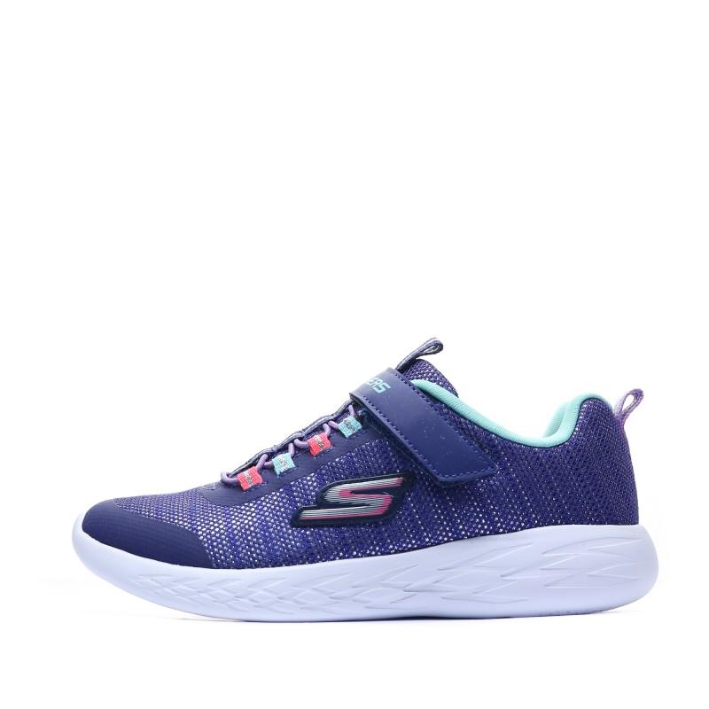 nouveau concept dernier style de 2019 économiser baskets Fille Bleu Skechers Pas cher | Espace des Marques
